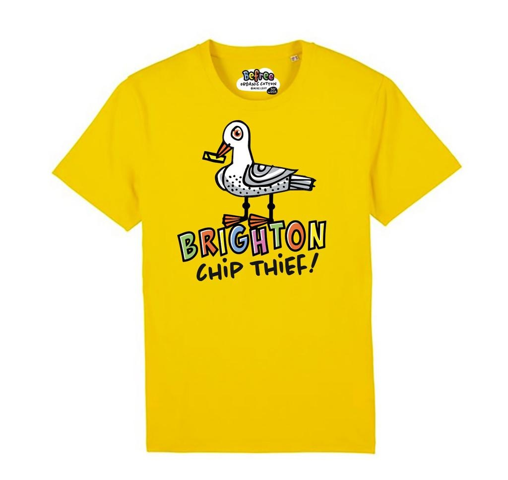 Brighton Chip Thief adult's t-shirt