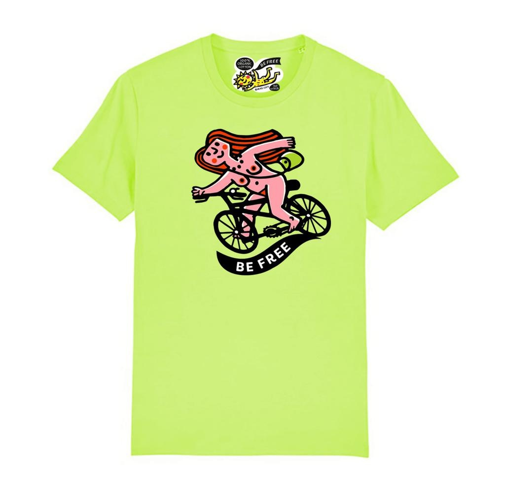 Pink Rider adult's t-shirt