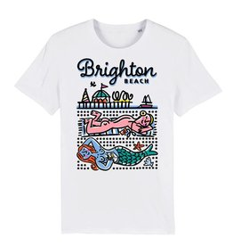 Sunbathers, Brighton Beach adult's t-shirt