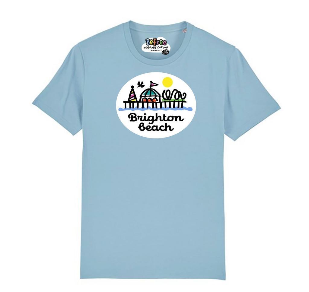 Brighton Beach Pier adult's t-shirt