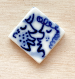 Porcelain small square tile