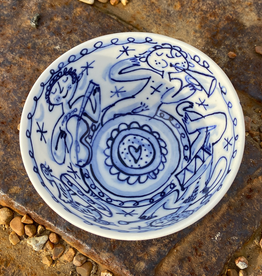 Porcelain cereal bowl