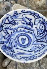 porcelain ice cream bowl