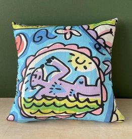 "Pattern cushion 18 x 18"""