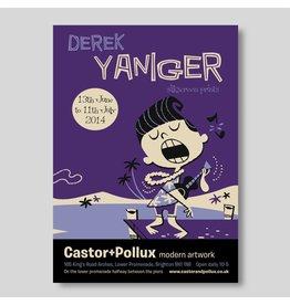 Derek Yaniger, exhibition poster