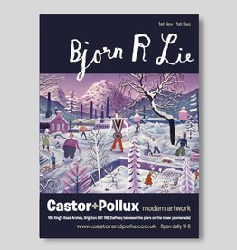Bjorn Rune Lie, exhibition poster