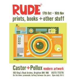 RUDE, exhibition poster