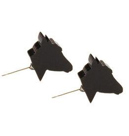Wild Mustangs Stud Earrings