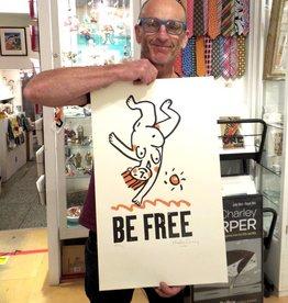 Be Free Naked Cartwheel