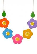 Posy Link Necklace - Brights
