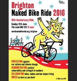 Naked Bike Ride 2016