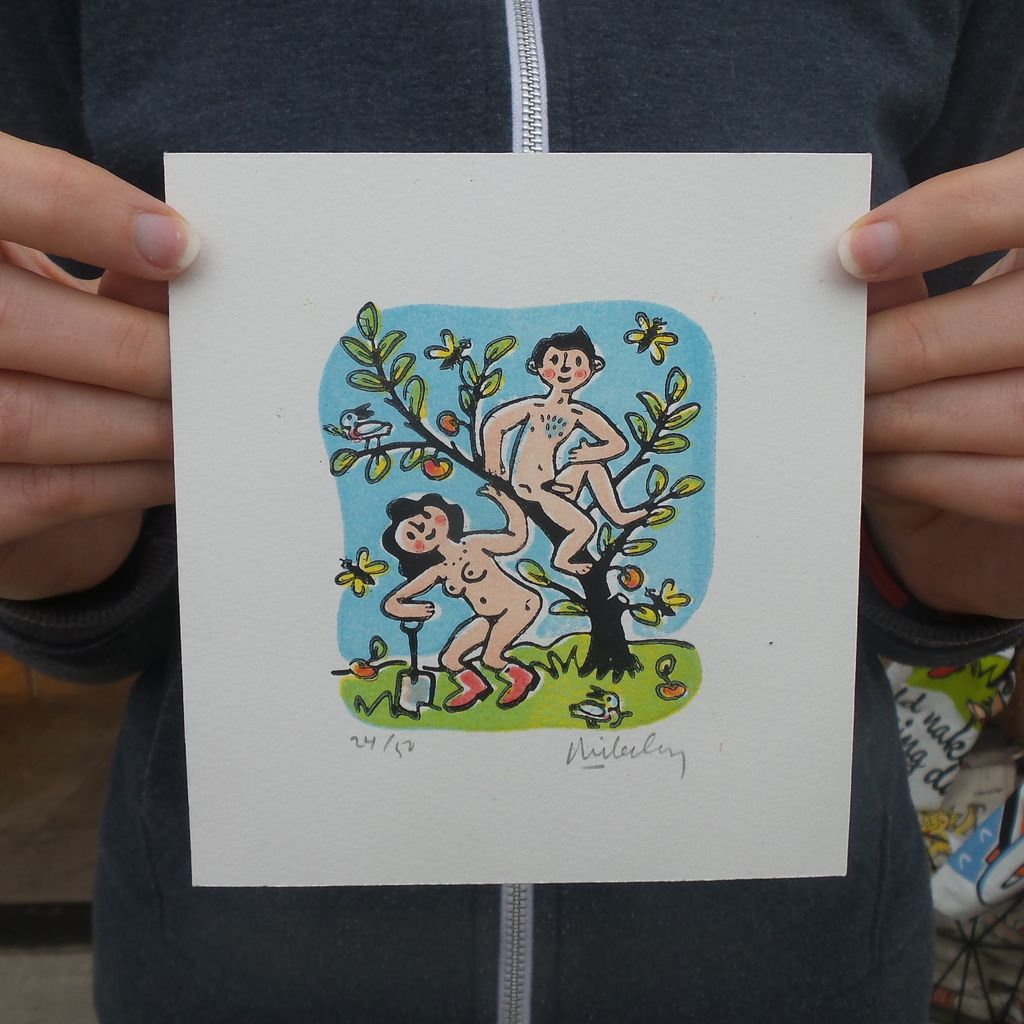 Adam and Eve - Colour (small)