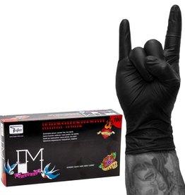 Handschoen zwart maat  S