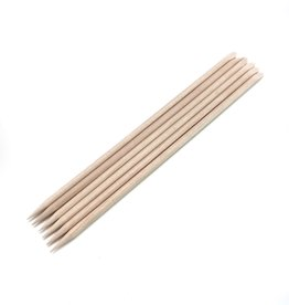 TS Products TS bokkepootje hout  (per 100 stuks)