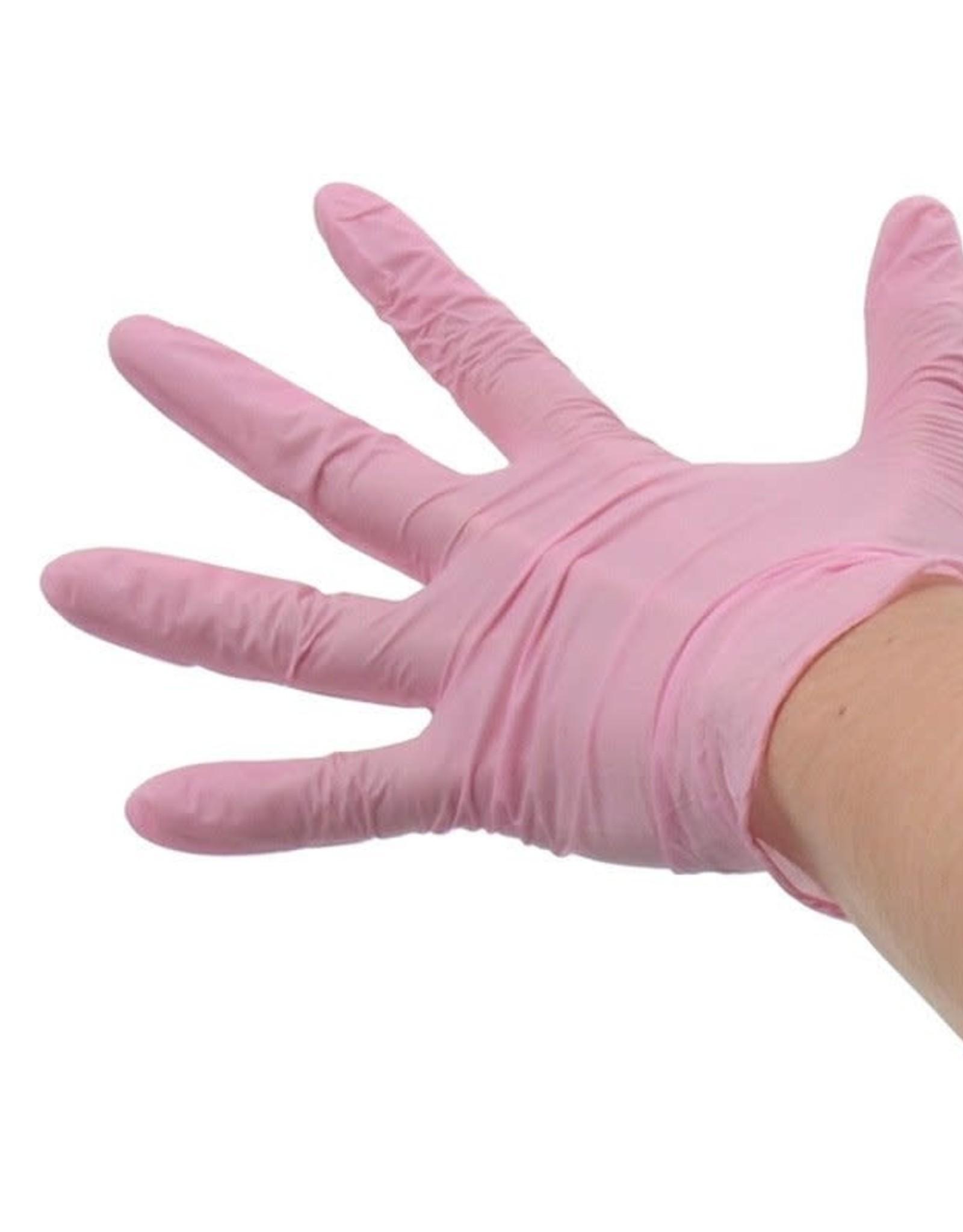 Handschoen Roze maat M