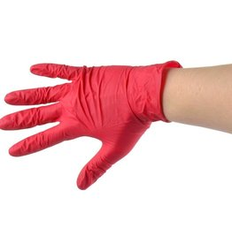 Handschoen Rood maat S
