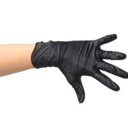 Handschoen zwart maat L