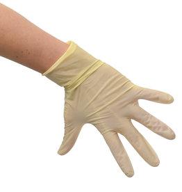 Handschoen wit maat M