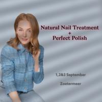 Natural Nail Treatment + Perfect Polish 1, 2 & 3 sept