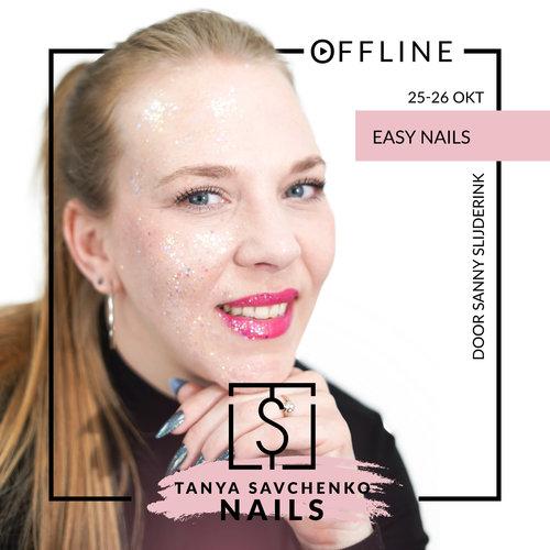 TS Training Easy Nails door Sanny 25 & 26 oktober
