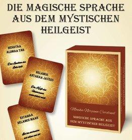 Kartenset: Die magische Sprache aus dem mystischen Heilgeist