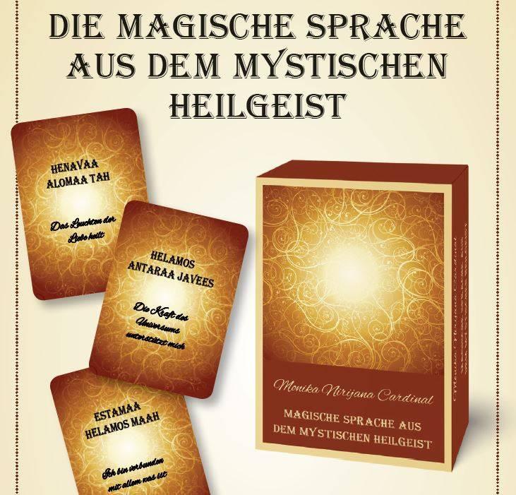 - Kartenset - Die magische mystische Sprache
