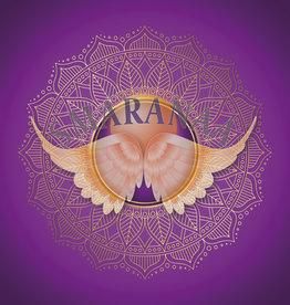 Mandala der violetten Falmme