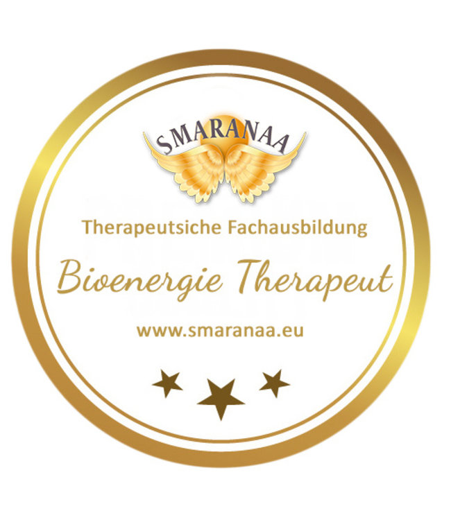 Smaranaa Zertifikat für Bioenergie Therapeut Smaranaa Heiltechnik