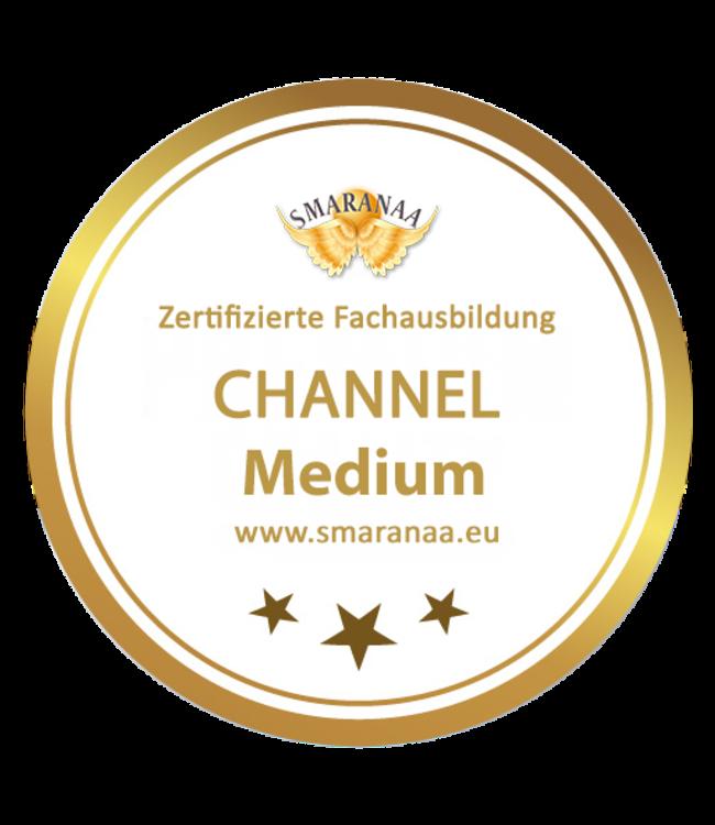 Smaranaa Zertifikat für Channel Medium