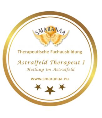 Smaranaa Zertifikat für Astralfeld Therapeut I