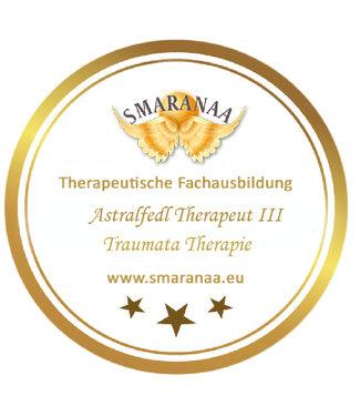 Smaranaa Zertifikat für Astralfeld Therapeut III