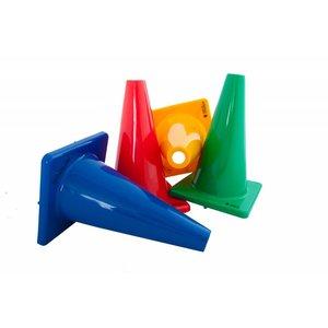 Pionnen/kegels synthetisch rubber 30 cm, per stuk