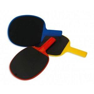 Tafeltennisbat kunststof rubber