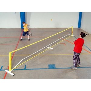 Mini tennisinstallatie - badmintoninstallatie