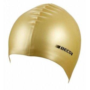 Badmuts metallic goud