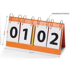 Scorebord hout