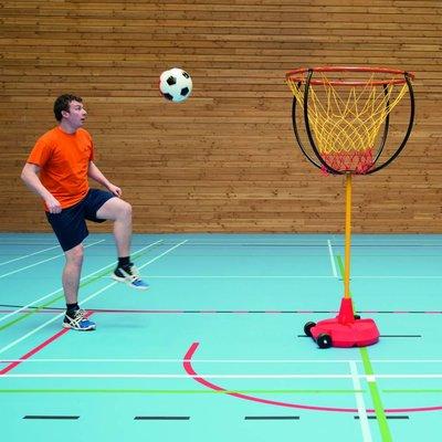 Voetbasketbal basket