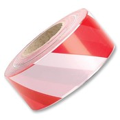 Afzetlint rood/wit 500 meter