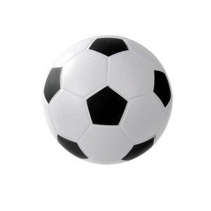 Foambal voetbal gecoat 17,8 cm