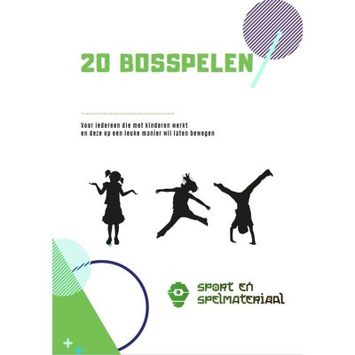 E-book 20 écht originele bosspelen