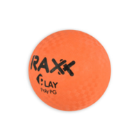 Raxx Polybal Oranje 12.7cm