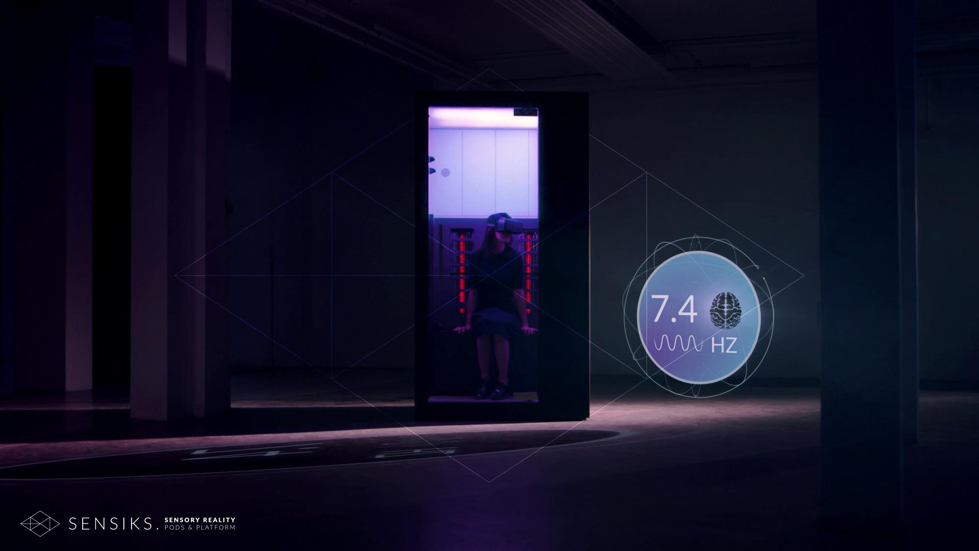 virtual reality pods future