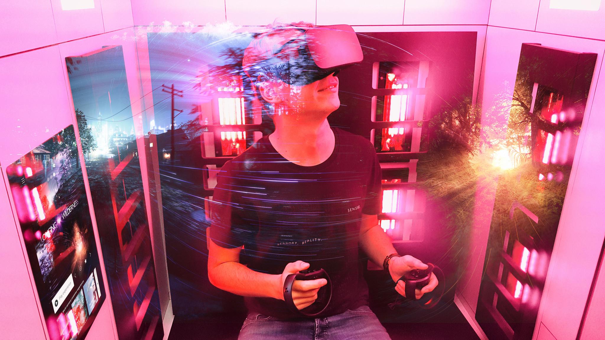 virtual reality multisensory interactive biometrics gaming solutions