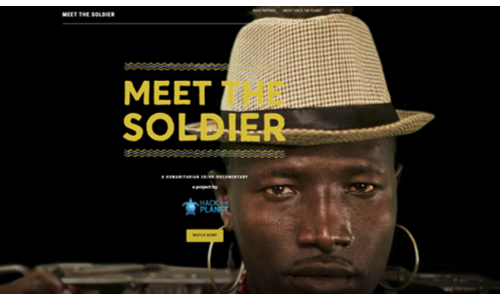Project: Meet The Soldier Hack the Planet