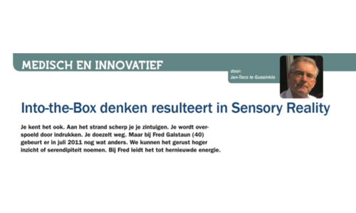 Medical & innovative - Sensory reality