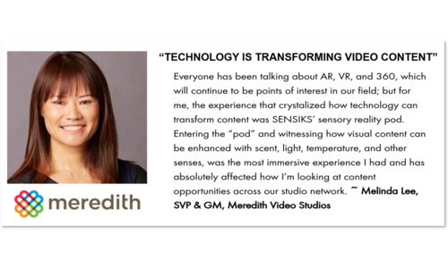 Transforming VR Video content with SENSIKS' sensory reality pod.
