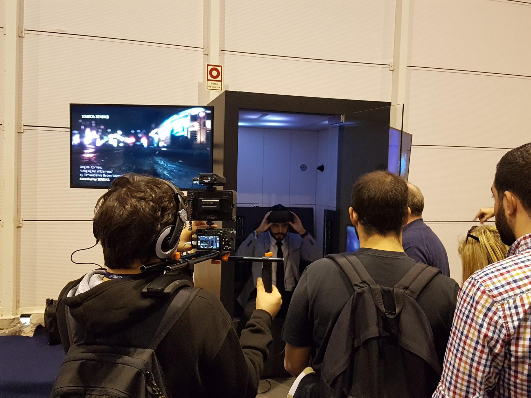 websummit virtual reality augmented reality sensiks event 4