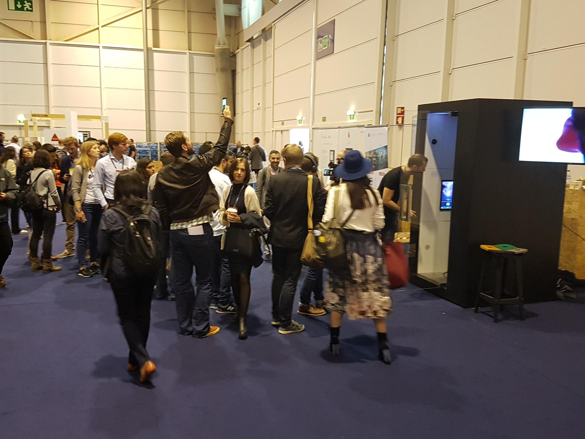 websummit virtual reality augmented reality sensiks event 3