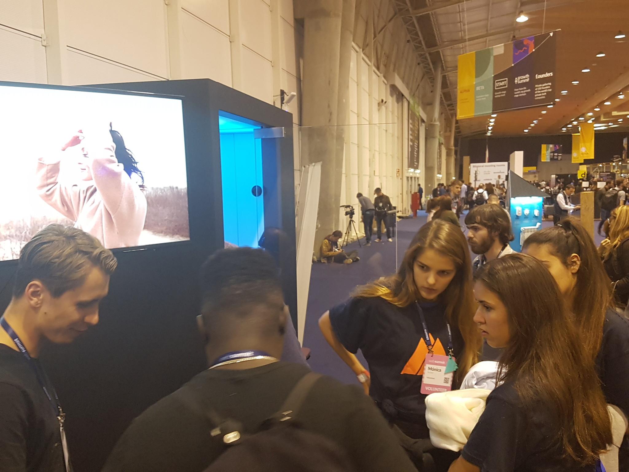 websummit virtual reality augmented reality sensiks event 1