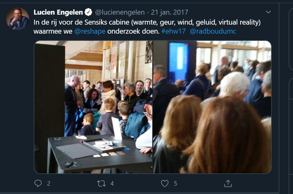 reshape radboudumc sensiks onderzoek